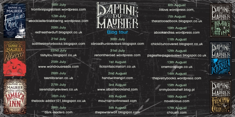 Du Maurier blog tour