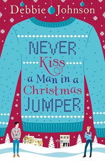 debbie johnson never kiss a man in a christmas jumper